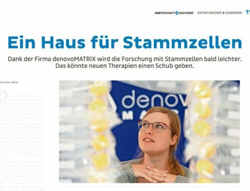 Interview with Sandra with Wirtschaft in Sachsen