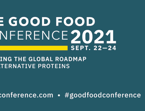 Meet us at the 2021 virtualGood Food Conference, September 22-24